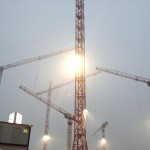 Berlin Construction Cranes