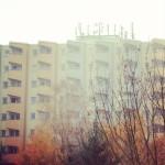 Hazy Berlin Building