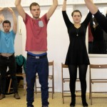 """So you think you can't sing?"" workshop at Theaterhaus Mitte"