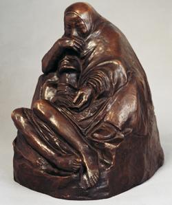 Pietà, 1937/38 (photo from www.kaethe-kollwitz.de)