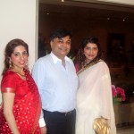 Maria Khan at a wedding