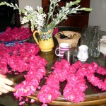 Pakistani Rose garlands for the groom