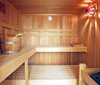 Typical German Sauna