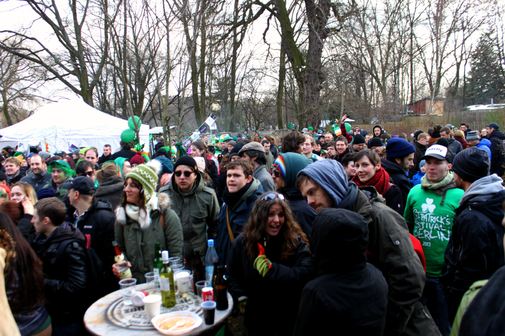 St. Patrick's Day in Berlin