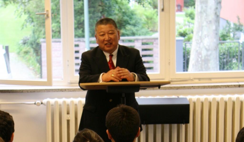 Dr. Galbaatar Tuvdendorj, Mongolian ambassador to Germany