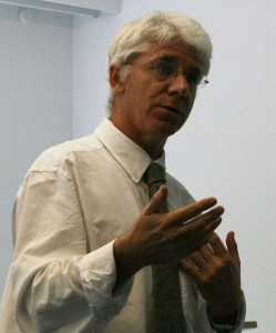 Thomas Doherty lecturing at ECLA of Bard