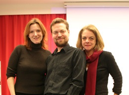 Geoff Lehman with Lynn Catterson and Denise Budd