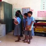 Classroom in the Kalpakkam Model School