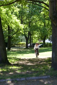 Maria Khan Biking