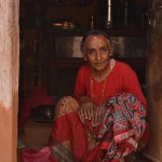 She was living in a small room in the courtyard of a deserted temple. Her slow movements and welcoming smile transmitted a peace and calmness that I felt so strongly.