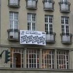 '48 Stunden Neukölln' posters could be found all over the area