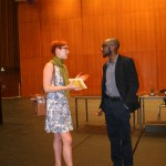 Teju Cole Discussing His Novel 'Open City' With an ECLA of Bard Student, Paris Furst (BA3)
