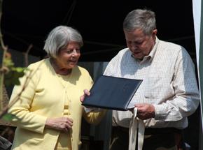Barbara and Richard Shriver