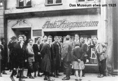 The Anti-War Museum around 1925