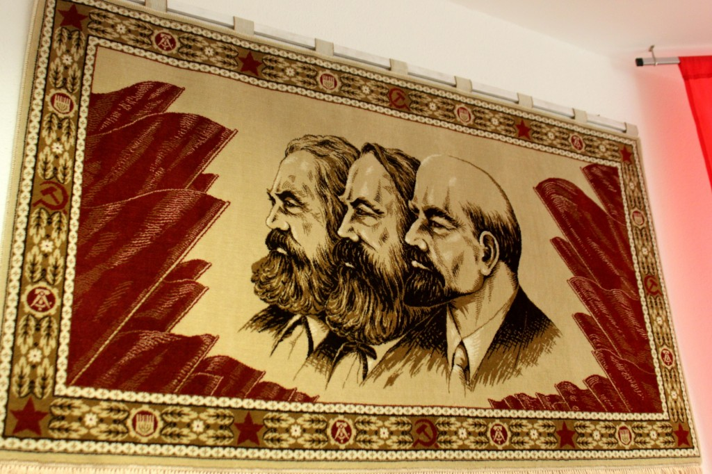 Comrades Marx, Engels and Lenin
