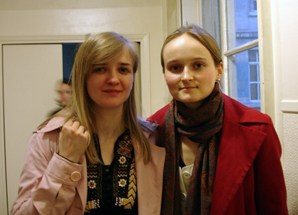 Conference on Belarus and Ukraine organized by ECLA alumna in Paris