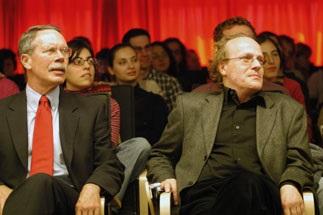 Dr. Thomas Flierl and Burkhard Kleinert