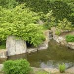 Japanese garden in Gärten der Welt Berlin Marzahn