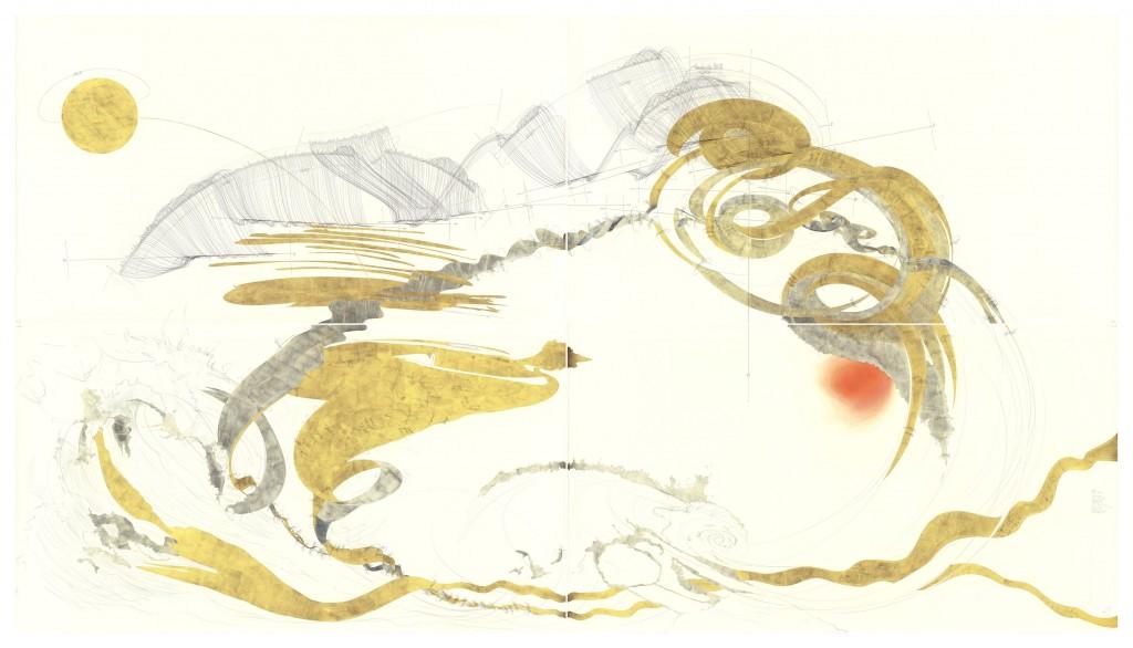 Jorinde Voigt, Goethe Faust Prolog im Himmel (Courtesy of Jorinde Voigt)