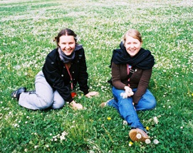 Maria Veyts (Russia, 2004-5) and Anna Bitkina (Russia, 2003-4)