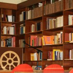Library in Das Buddhistische Haus .
