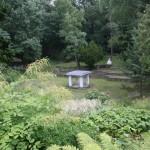 Open Temple in the Garden.