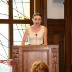 Olga Nicolaeva's speech on behalf of the Academy Year (AY) students