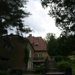 The View on Das Buddhistiche Haus from the Backyard.