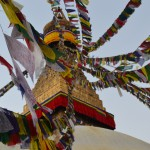 Boudhanath's stupa is one of the holiest Buddhist temples in Nepal