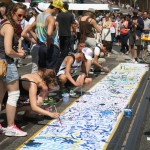 Energetic Group Painting