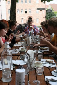 The Culinary Walk on August 17 with Stefan Will ended with a feast worthy of the day.