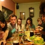 Dinner at the Kartoffel Haus in Weimar
