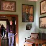 Goethe's house - Florian Becker, Instructor of the Berlin Experiment in Modernity course