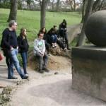 Sculpture in Goethe's Garden