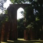 The ruins of Eldena Abbey