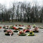 Memorial site in Buchenwald concentration camp