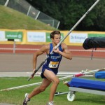 Estonian pole vaulter silver medalist, Hans-Christian Hausenberg