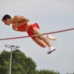 Pole vaulting gold medalist, Noel Aman del Cerro Vilalta. (Photo: Hervé Kerouédan)