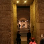The Kalabsha Gate stands as a testimony of the Egyptian temple architecture (Sammlung Scharf-Gerstenberg)