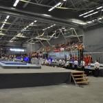 The gymnastics venue. (Photo: Hervé Kerouédan)