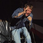 Blur's frontman Damon Albarn performing at Berlin Festival 2013