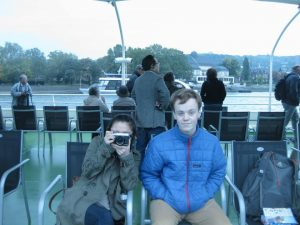 Exploring Germany – Students Yishu Mao and Tom McQueeny explore Germany over their fall break
