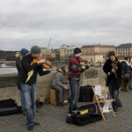 [6] Street Musicians on Charles Bridge I