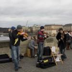[6] Street Musicians on Charles Bridge I