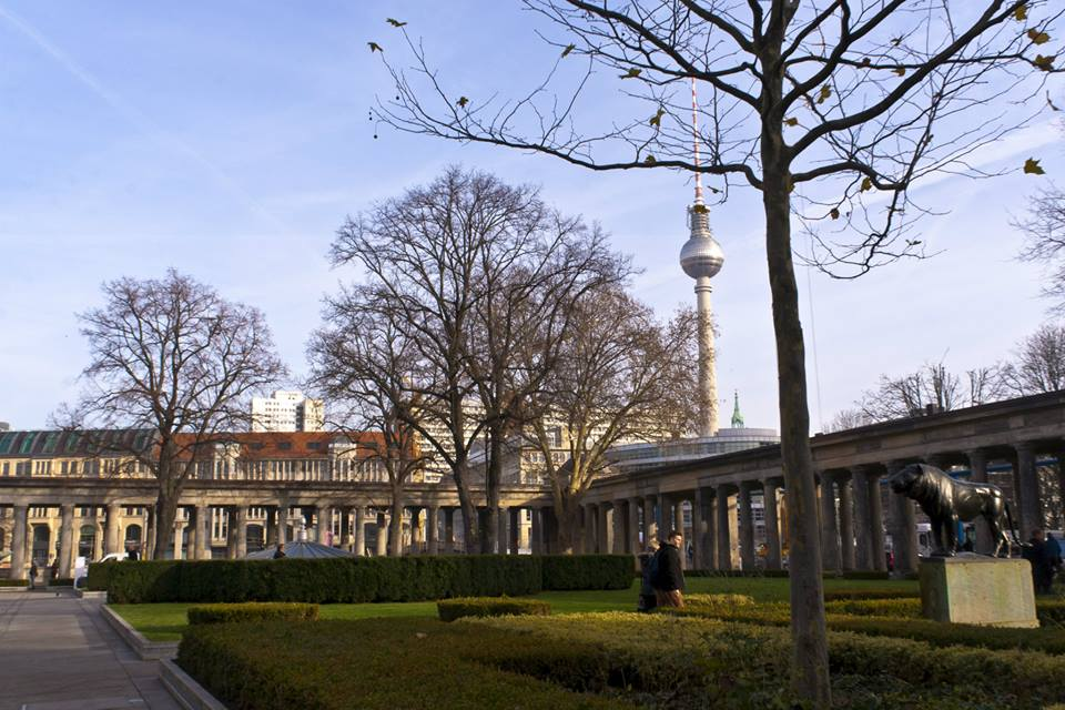 Museum Island with the Fernsehturm in the background (photo by Inasa Bibic)