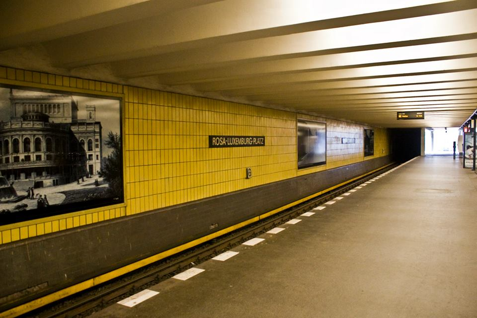 U-BAHN Berlin (photo by Inasa Bibic)