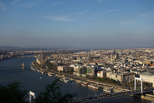 View from Citadella, Budapest. Photo by the author.