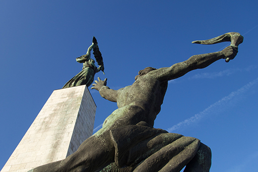 Szabadság Szobor, Budapest. Photo by the author.