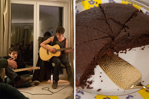 The opening of Socratea House - an Open Mic evening seasoned with tasty desserts and pastries