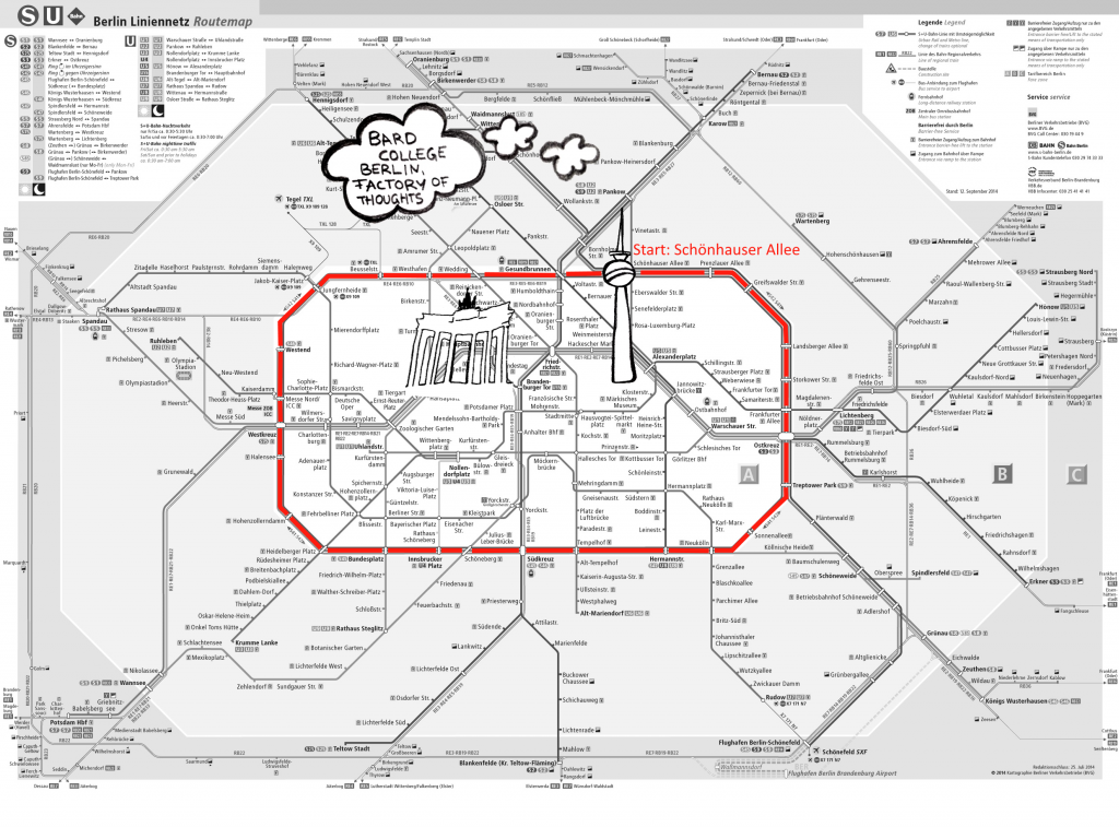 Map of Berlin Public Transport